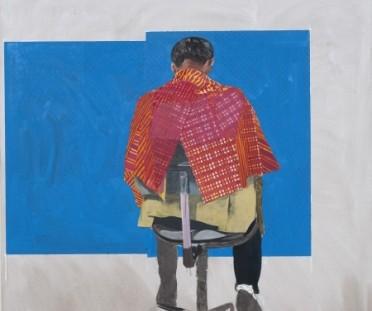 Hurvin-Anderson Art - Sitters
