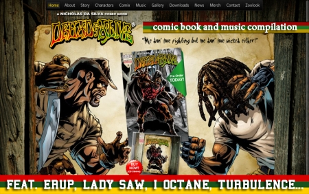 Dread and Alive Comic Series 2