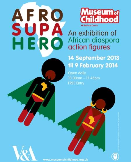 Afro Supa Hero Exhibition