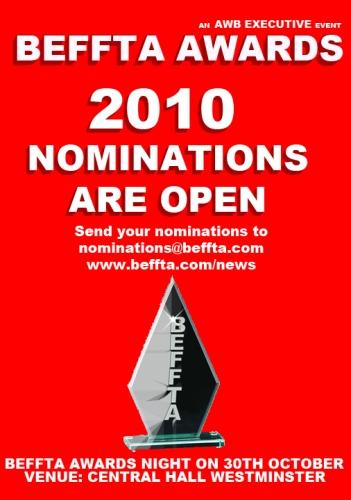 Beffta Nominations 2010
