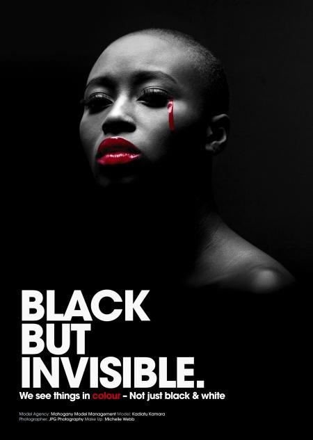 Black But Invisible Campaign 2008