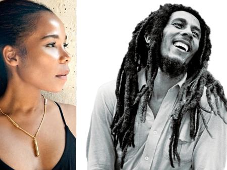 Cedella and Bob Marley