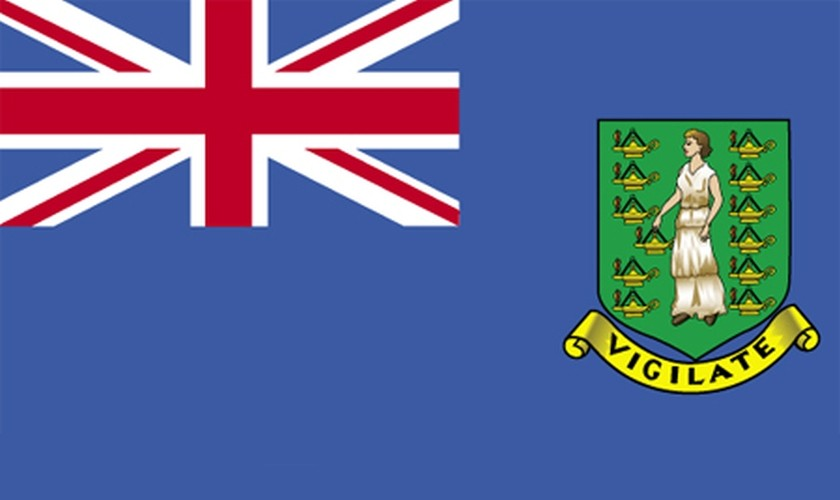 BVI - British Virgin Islands Flag