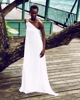 Caribbean Fashion Drenna Luna Model latesha Coleman