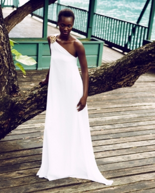 Caribbean Fashion Drenna Luna Model latesha Coleman