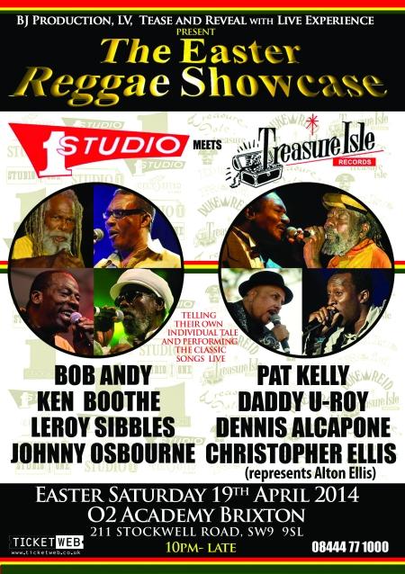 Easter Reggae Show