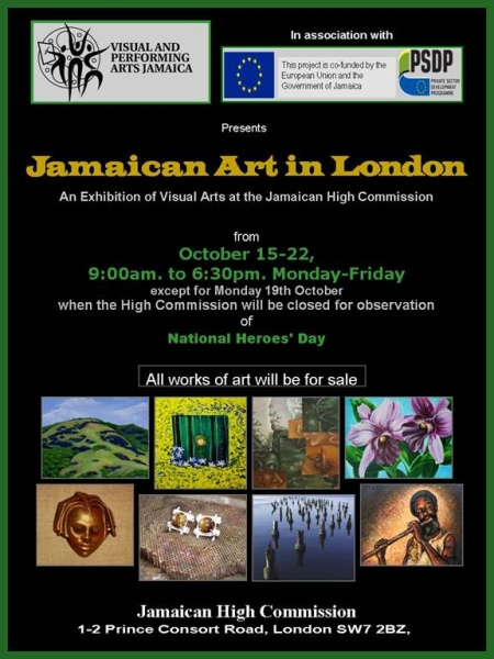 Exhibition of Jamiacan Art in London