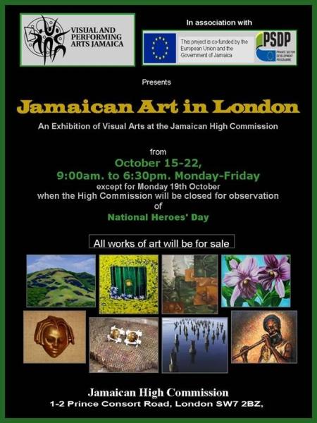 Exhibition of Jamiacan Art in London