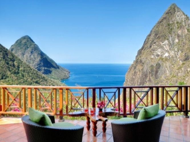 Ladera Hotel St Lucia