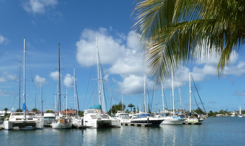 Marinas in the Caribbean