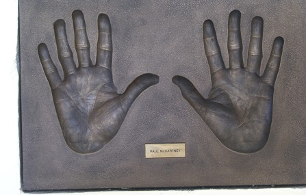 Montserrat McCartney hands