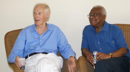 Sir George Martin and Sir Trevor Macdonald