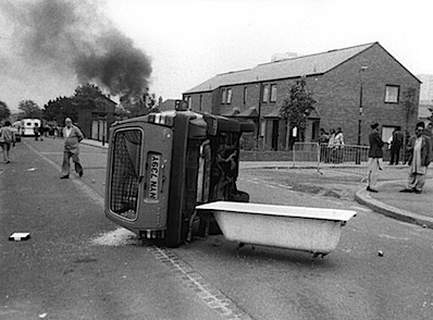 Central TV's Car, Handsworth