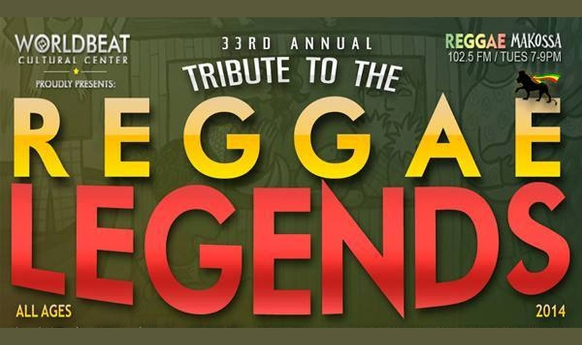 Reggae Legends Festival in San Diego