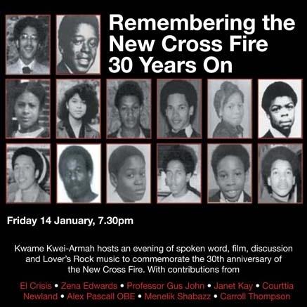 Remembering New Cross Fire
