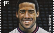 John Barnes one of the 11 Football Heroes on latest set of Royal Mail special stamps