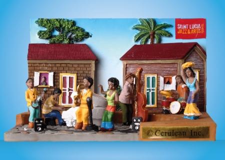 St Lucia Vive le jazz
