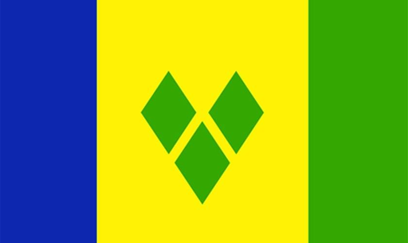 St Vincent & Grenadines Flag
