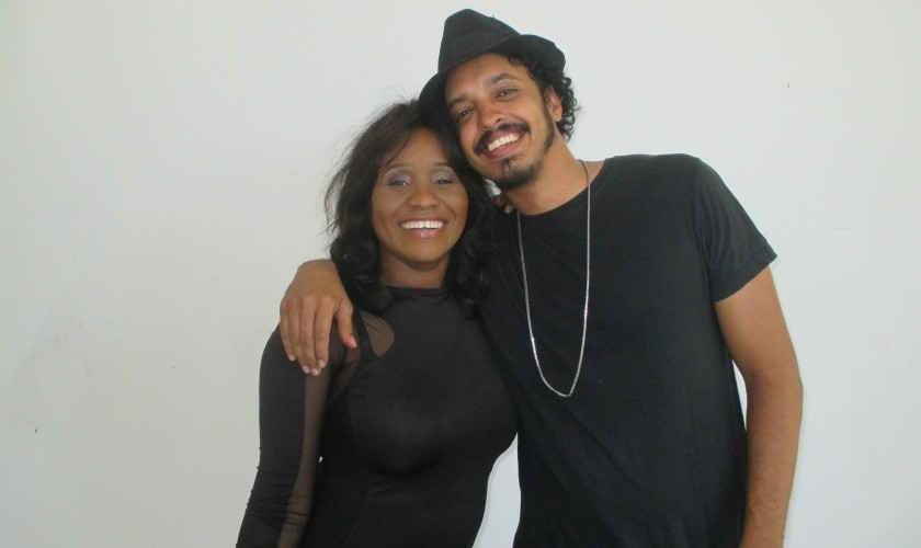 Tanya Stephens and Sanjay