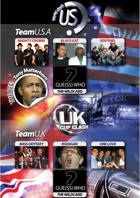 US vs Uk Cup Clash 2010