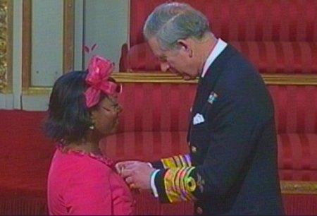 Yana Johnson awareded MBE