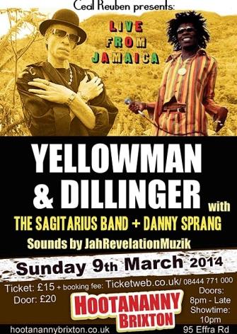 Yellowman at Hootananny