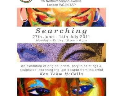 Ken Yahw McCalla Exhibition 2011