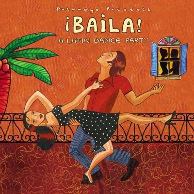 Baila Latin Dance Party CD