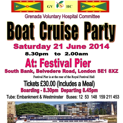 Boat Cruise Party 21 Jun 2014