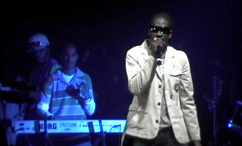 Bounty Killer on stage