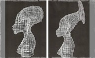 Carl Gabriel Carnival Wire Sculptures