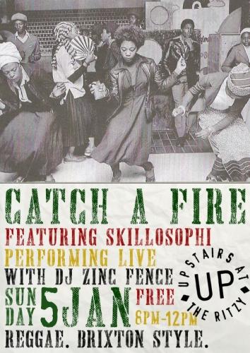 Catch a Fire Reggae Jan 2014