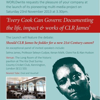 CLR James Project