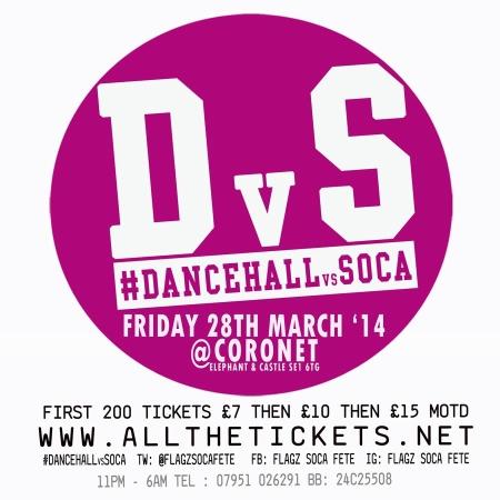 Dancehall vs Soca 2014