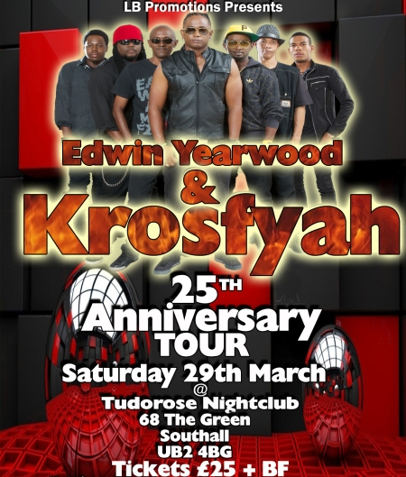 Edwin Yearwood Krosfyah 25th Anniversary