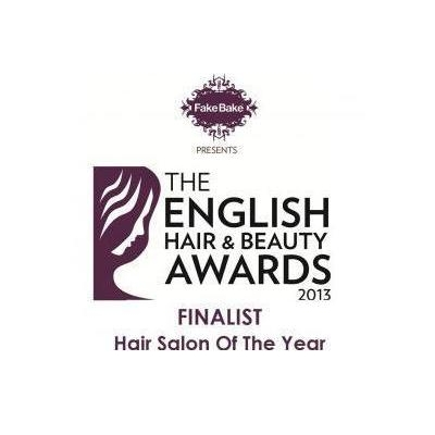 English Hair Beauty Award finalist 2013