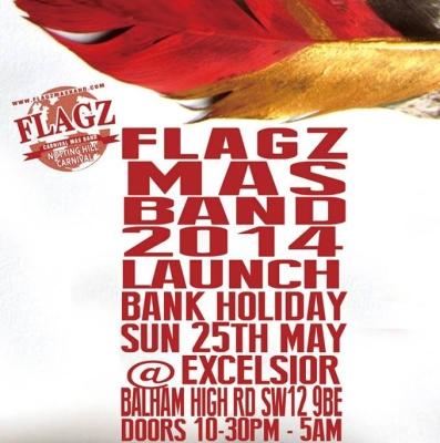 Flagz Mas Band Launch 2014