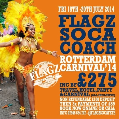 Flagz Soca Coach 2014 Rotterdam Carnival