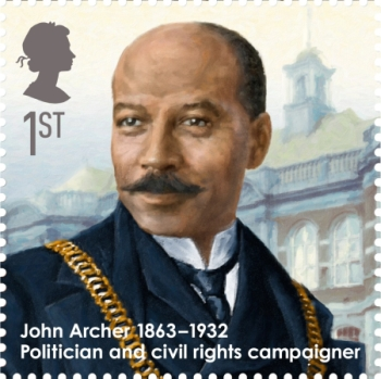Great Britons John Archer Stamp