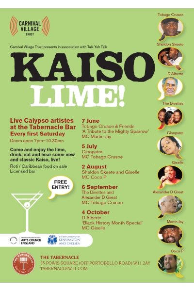 Kaiso Lime 2014