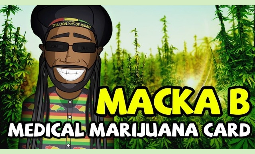 Macka B Medical Marijuana Card 2014