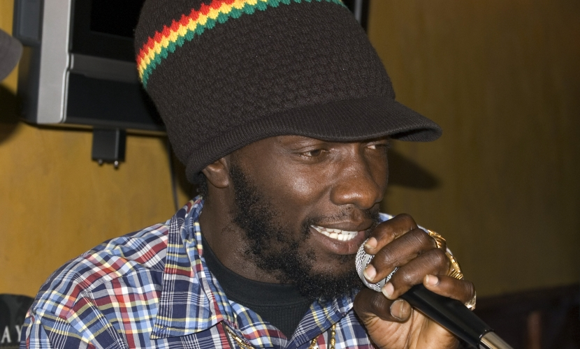 Natural Black Reggae Artist