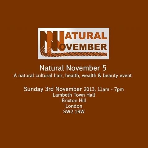 Natural November hair Event 2013