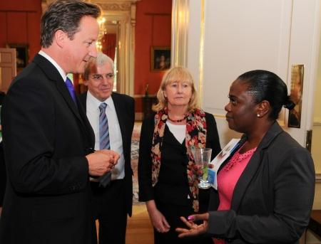 Neomi Bennett meets David Cameron
