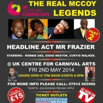 Real McCoy Legends May 2014
