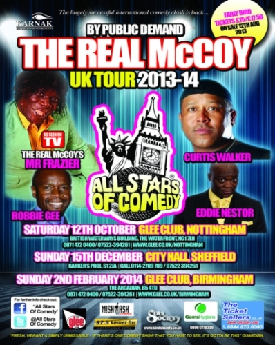 Real McCoy UK Tour 2014