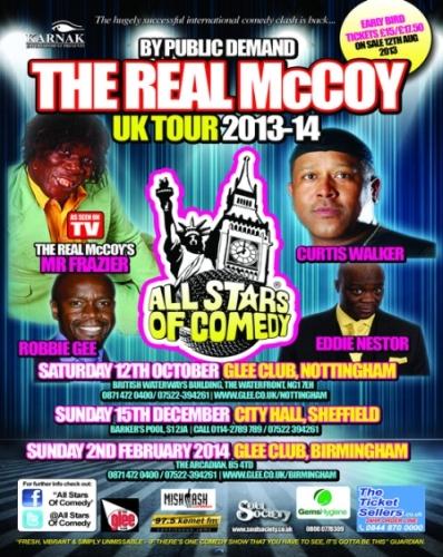 Real McCoy UK Tour 2014