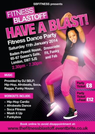 Fitness Blastoff Party Jan 2014