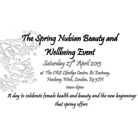 Spring Nubian Beauty Event 2013