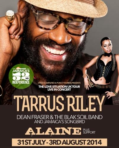 Tarrus Riley UK Ttour